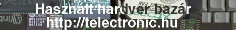Hardver és egyéb elektronikai bazár *-*-*-*-* Reklám banner - Kattints IDE